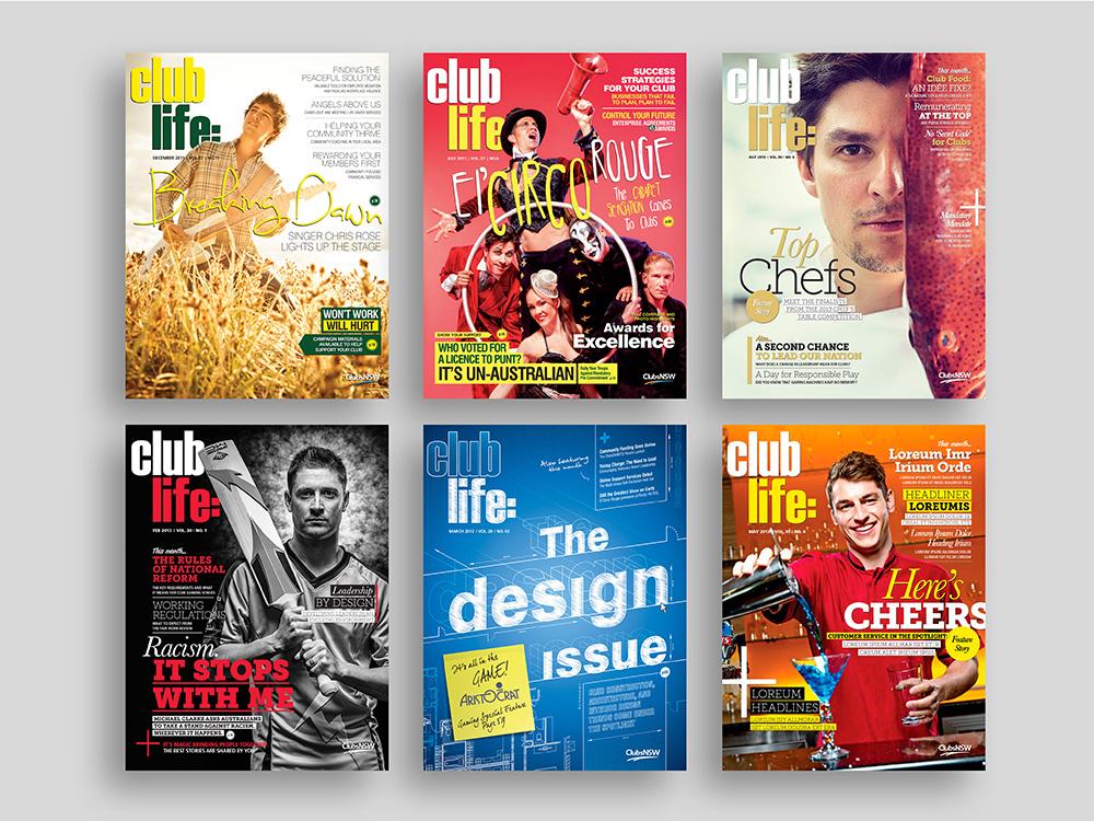 Mitch Morgan Design - Magazine Design